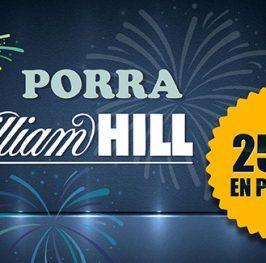 Porra WilliamHill con 250€ en premios
